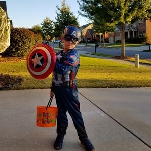 Other - Boys size Small Captain America Halloween costume